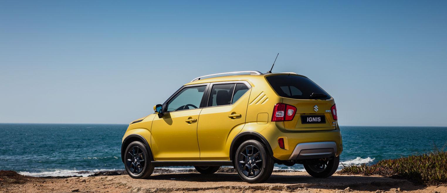 Nieuwe Suzuki Ignis